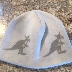 KANGOL SIGNATURE SKULL CAP HAT - winter white